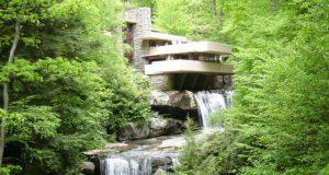 L'edificio più amato è la Casa sulla cascata